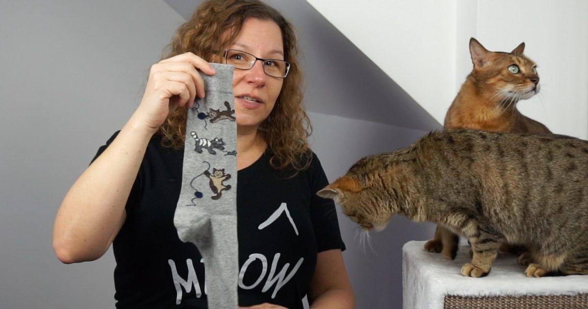 Gut bekannt DIY Katzenspielzeug aus Socke - Lifehack für Katzen - Coco und Nanju AL81